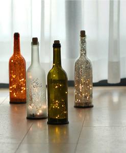 wine bottle LED light romantic creative novel home decoration