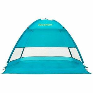 비치 텐트 우산 태양 그늘 쉼터 팝업 캠핑 하이킹 야외 캐노피