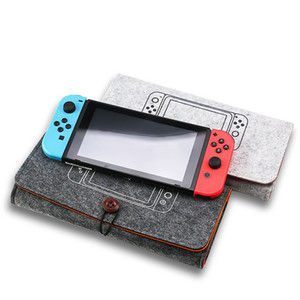 2020 Switch bag Portable Carrying Protect Travel Felt Bag Console Game Pouch Protective Carry Case For Nintendo Switch Shell Box Switch