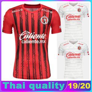 19 20 Xolos de Tijuana Thailand soccer jersey 2019 2020 Club Tijuana home red away white Soccer Shirts RIVERO LUCERO BOLANOS football shirts
