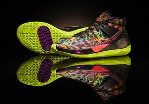 2020 KD 13 EYBL EE.UU. OREO FUNK CRIADO Zapatos baloncesto de los hombres con tamaño Box Nueva Kevin Durant 13s Trainner Deportes zapatillas 7-12