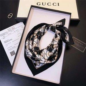 fashion style brand women scarf 50x50cm Scarves silk designer Scarfs high quality fashion Print pattern design