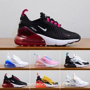 2019 Kids Athletic Shoes Children 27c Basketball Shoes Wolf Grey 27c Toddler Sport Sneakers for Boy Girl Toddler Chaussures Pour Enfant OLU5
