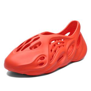 Casual Shoes Men Women Sandals Soft Mesh Couple Beach Slippers Foam Runners Comfort Flip-flops Slipper Men Swimming Sandal