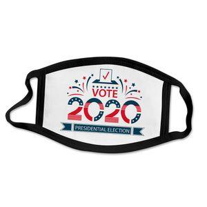 Máscaras Trump algodón del polvo anti niebla reutilizable lavable y transpirable cubierta de la cara 2020 Máscaras EE.UU. partido de Cosplay de la elección de Biden para hombres y mujeres
