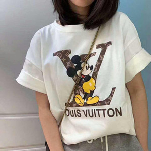 impression en gros Fashion Designers Design Rainbow T-shirts Hommes G Femmes manches courtes en coton Homens marque chemises Respirant Womans top T