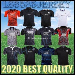 2019 2020 2021 NEGRO Rugby jerseys mejor calidad de 100 años de rugby Aniversario Edición conmemorativa camiseta T caga tamaño S-3XL