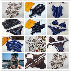 Designer Lady Bikini Swimsuit Louis Vuitton Brand Letter Printed Swimwear Bikini for Women Two-Piece Female Bikini Bathing Suit