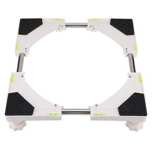 Multi-fonctionnel Base de 4 pieds Taille forte réglable pour machine à laver Réfrigérateur Climatisation appareils ménagers