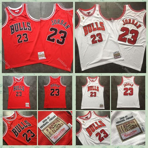Mens 23 Michael JD authentique Swingman Jersey Retro Hardwood