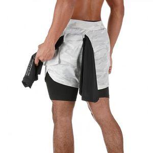 Sport Shorts di funzionamento di addestramento di Bodybuilding fitness Sweatshorts traspirante