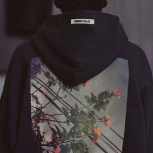 Loose Winter Floral Women Hiphop Print Sweatshirts Street Fear Of God Hoodies Flower Fog Men's Essentials Men Sports Casual Hoody Hoodi Trql