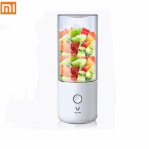 Xiaomi Mijia Viomi Blender Mezclador de cocina eléctrica Juicer Fruit Cup Pequeño Procesador de alimentos portátiles Portátiles 45 segundos Juicio rápido