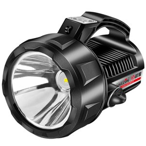 1000W 휴대용 슈퍼 밝은 LED 서치 플래시 라이트 경고 조명 USB 충전식 전원 은행 야외 캠핑