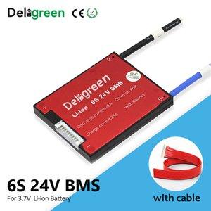Pièces Battery Charger ccessoires ccessoires 6S 24V BMS 15 20 30A 40A 50A 60A pour 3.7V lithium 18650 Li-ion