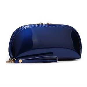 Women's hand Shell wallet Small bag wallet patent leather sequins small bag factory Summer 2020 new shell sweet lady coin purse