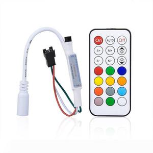 Mini RGB Controller 21 Key Pixel Controller for Led Strip WS2811 Pixel Module Light DC5V-24V Control Cabinet