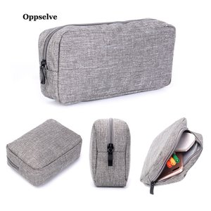 Portable Mobile Phone Pouch Bag for iPhone 11 Samsung Xiaomi Huawei Earphones USB Cables Storage Case for Cell Phone Accessories