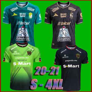TAMANHO S-4XL 2020 Clube Leon Futebol 20/21 FC Juarez LIGA MX LEON Casa Fora camisas de México Futebol