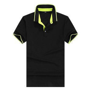 Summer Mens Designer Polos Fashion Mens T Shirt Casual Solid Color Polo Shirt Tops Breathable Tees 9 Colors Size S-3XL