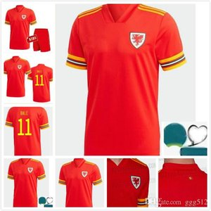 Men kids KIT 2020 Wales soccer jersey cup 20 21 BALE ALLEN James Ben Davies Wilson camisetas team home football jerseys shirts