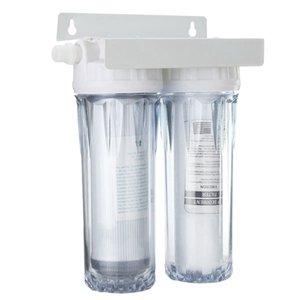 10-Zoll-Dual Dual Umkehrosmose-Hahn-Hahn-Wasser-Filter Gesundheit Purifier Cartridge Home Küche T200805