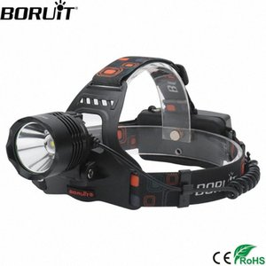 BORUiT RJ 2158 XM L2 LED Headlamp 5 Mode POWER BANK Headlight 3000Lumens Head Torch Camping Hunting By 18650 Battery IeKf#