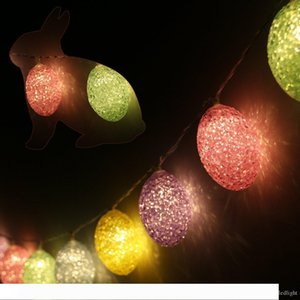 Easter Egg String Light 6.56ft with 20 LED home and garden festive and party supplies