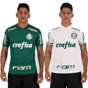 Palmeiras Início 2020 Libertadores Patrocínio Soccer Jersey camisa 20 21 DUDU G.VERON L.ADRIANO WILLIAN FELIPE MELO BORJA A.GUERRA Futebol