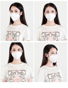 На складе Individl Пакеты 3 слоя маска для взрослых Маска одноразовая Fa Qlity Одноразовая Fa Маски Загрязнение воздуха Free потягивая # 206