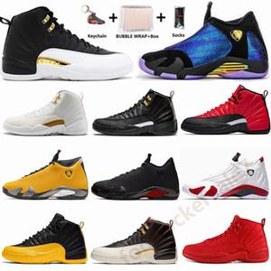 Nike Air Jordan Mit Box Socken Jumpman 14 Chameleon Doernbecher Candy Cane Bred 14s Herren-Basketball-Schuhe 12 12s Flügel FIBA Flight Sport Turnschuhe Größe 13