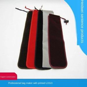 palillos de franela de alta calidad profesional vajilla de almacenamiento de joyería del bolsillo del paquete empaquetado Bolso de empaquetado de la bolsa de joyería barata