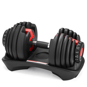 Weight Lifting Adjustable Dumbbell 5-52.5lbs Sports Fitness Workouts Dumbbells tone your strength and build your muscle FY7221