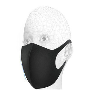 Black White Mouth Mask Nano Breathable Unisex Face Mask Reusable Anti Dust Anti Pollution Face Shield Wind Proof Mouth Cover UPS DDP Send