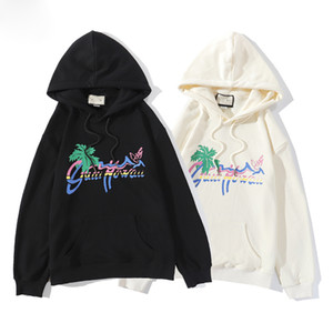 Мужская одежда Мужская с капюшоном Мужские Ladies Дизайнер High Street Supremo Печать Hoodie пуловер Winter Толстовка