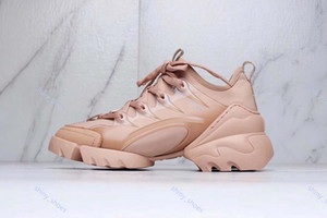 xshfbcl luxe Women Casual Shoes Neoprene Grosgrain Ribbon D-connect Sneakers progettista Comfort Ladies Wrap-around Rubber Sole Dress Shoes