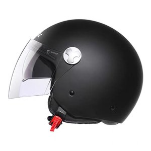 New motorcycle helmet for both men and women both size retro scooter battery car four seasons applicable half helmet