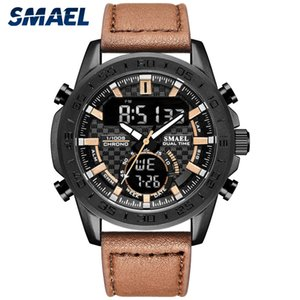 Men watches Fashion Sport relogio masculino Stainless Steel Case Leather SL-1407 Watch Quartz Business reloj hombre Wristwatch