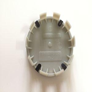 Car-styling 20pcs / lot 10clips roda de carro hub cap logotipo para o centro da roda auto cobertura emblema 68 milímetros rótulo abs 10pins crachá