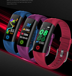 S5 Smart Watch Fitness Tracker Healthy Heart Rate Monitor Step Information Push Smart Alert Bracelet