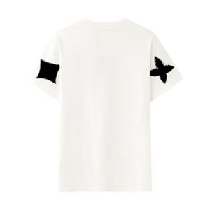 Designer T-shirt 20FW nuovo arrivo stampa del fiore T-shirt Moda Uomo Donna fresco comfort T con il disegno geometrico formato S-2XL