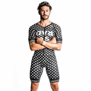 Love The Pain 2020 uomini in bicicletta Skinsuit Triathlon Speedsuit Trisuit manica corta Speedsuit Abbigliamento Running dzTW #