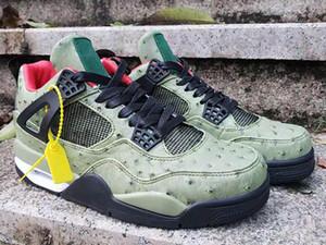 2019 Hot Designer The Shoe Cirujano X Travis 4 Tatuaje Underfated Hombre Zapatos de baloncesto Top Calidad 4S Cactus Jack Deportes Zapatillas deportivas