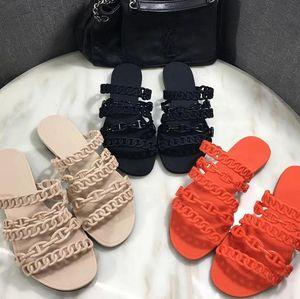 Marka olarak terlik bayan sandalet kauçuk düz ayakkabıların terlik parti düğün ayakkabı terlik