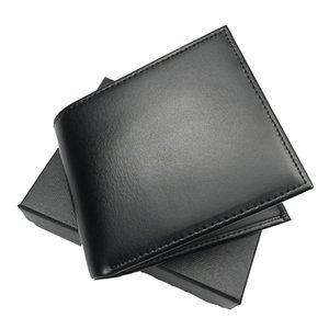 Avrupa tarzı erkek kart cüzdan moda çanta ince stil cebi cüzdan üst deri kredi kartı sahibi çanta kara kutu kum torbası portföy