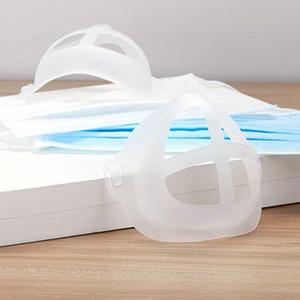 Yüksek Kalite Yeni Tek Yaz 3D Nefes Işık Beyaz PP Yüz Maskesi Tutucu Parantez İçin Yetişkin Evrensel
