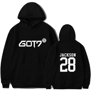 GOT7 new SPINNING TOP peripheral Yingyuan clothing same sweater Hoodie album Sweater album men's and women's hoodie