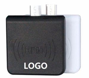 안드로이드 휴대폰 마이크로 USB 13.56MHz의 카드 리더 Accpet의 prinitng에 대한 액세스 제어 카드 리더 미니 사이즈의 USB IC RFID 카드 작가