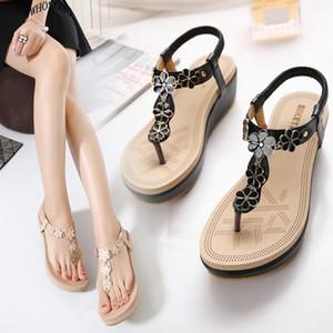WHOSONG estate sandali delle donne della piattaforma dei sandali di modo Infradito Scarpe comode donna 35-40 M143