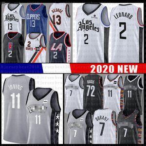 Kawhi Paul 2 George Leonard Basketbol Jersey Clipper Net Kevin Kyrie 11 Durant Irving 72 Biggie LAtırnak makasıBrooklynAğ7